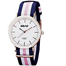 guoaivo SBAO  Fashion Temperament Vintage Couple Simple High-end Watches - Multicolor E