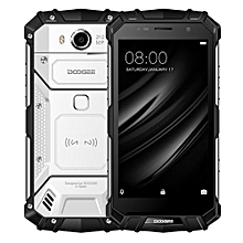 S60 Triple Proofing Phone, 6GB+64GB IP68 Waterproof Dustproof Shockproof 5.2 Inch Sharp Android 7.0 MTK Helio P25 Octa Core 2.5GHz NFC, OTA, QI Wireless Charge 4G Smartphone(Silver)