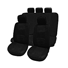 OR Car Seat Covers Full Set Automobile Protection Cover Universal Accessory-black
