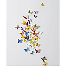 Butterflies Wall Stickers  Bedside Furniture Decoration - Warm Color