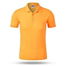 2018 Newest Customized Fashion Men And Women Available Summer Polo Shirts-Orange