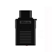 8Bitdo Retro Receiver for NES Game Controller BLACK