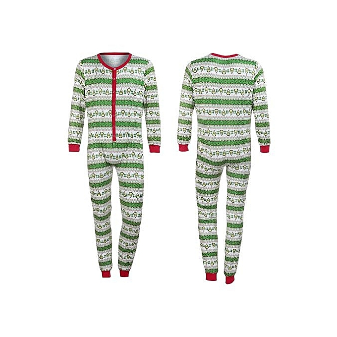 267aec4e03 bluerdream-Women Family Matching Xmas Pajamas Set Women Kid Adult PJs  Sleepwear Nightwear L-