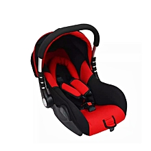 Superior Infant Car Seat/Carry Cot - Red and black