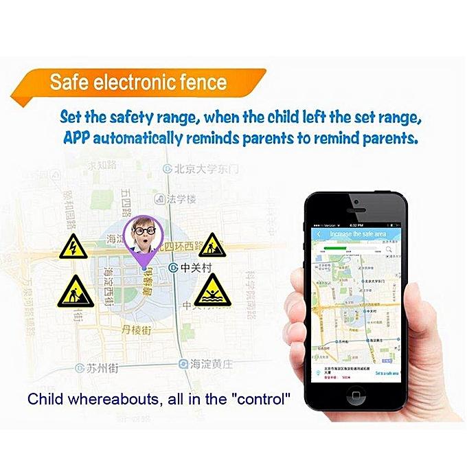 4fd43dfa727908 ... C3 Touch Screen Smart Watch Waterproof Band GPS+LBS Locator Tracker SOS  Call For IOS ...
