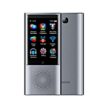 Boeleo W1 2.8 Inch Screen Voice Translator Smart Business Travel AI Translationhine 4G Network 1G+8G 45 Languages Translator(Grey)