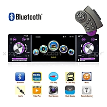 "Car Stereo Radio MP5 Player 4.1"" Bluetooth 1 Din USB AUX FM MP3 1080P Screen"