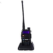 BAOFENG UV-5R UHF / VHF Walkie Talkie 128-Channel With Flashlight(EU Plug) - Black