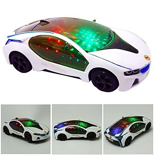 Buy Universal 6 Pcs Newly New Car Flashing Led Light Music Sound