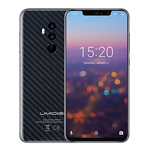 Z2 4GB+64GB  6.2 Inch Sharp Android 8.1 MTK6763 (Helio P23)  Octa Core Up To 2.0GHz 4G Dual SIM(Carbon Fiber Black)