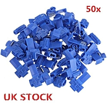 50pcs Scotch Lock Quick Splice 18-14 AWG Wire Connector Blue