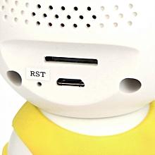 Home Security Camera Alarm System Monitor Detection Mini Robot Surveillance WiFi-Black