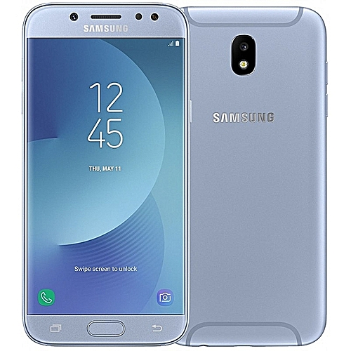 Galaxy J7 Pro (2017), 16GB, 3GB RAM, 13MP Camera, 4G LTE (Dual SIM), Blue Silver