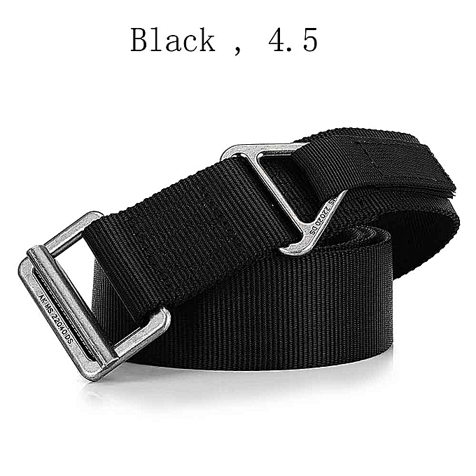 Lixada Tactical Belt l Quick Release Belt with Heavy Duty Buckle Nylon  Survival Camping Mountaineer Climbing Waist Belt