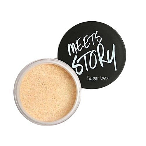 Fashion ShineweropMaquiagem Sugar Box Makeup Loose Face Powder Setting Powder Mineral Finishing Powder Foundation