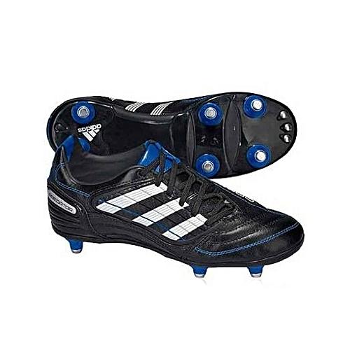 ff34c5f0c ADIDAS Rugby Boots Screw Absolado - X SG Snr - Black @ Best Price ...
