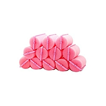 Blue Lans Magic Sponge Hair Curlers Styling Rollers Set Of 6