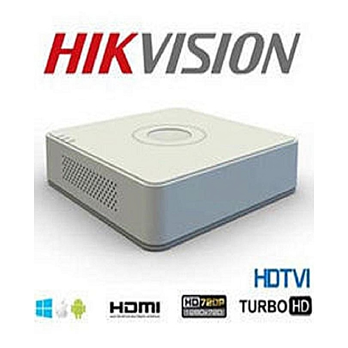 Hikvision Dvr Model Ds-7104Hghi-F1/4Channel/ 2Mp High-Performance Hd  Quality 1080 Resolution