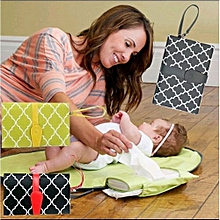 Diaper Changing Clutch Bag(BLACK)