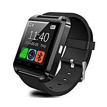 Smart Watch Bluetooth Pedometer Touch Screen Watch - Black