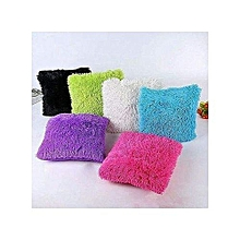 New 6pcs Fluffy Pillow Covers / Throw Pillow Covers / Cushion Covers - 18'' x 18'' - Assorted colours .