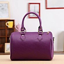 Xiuxingzi_Women Handbag Shoulder Bag Tote Purse Leather Messenger Hobo Bag Purpl