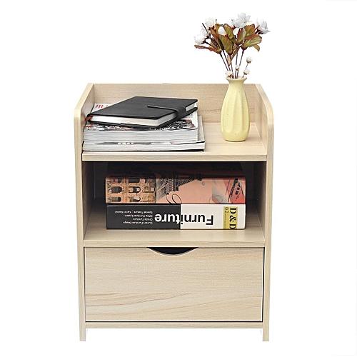 Generic Modern Wooden Bedside Table Nightstand Storage Bedroom ...