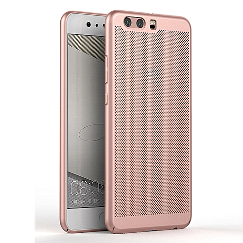 separation shoes 77d55 d10f8 For Huawei P10 Case Fashion Hollow Grid Slim Full Body Protective  Breathable Radiation Case Hard Plastic Housing Cover For Huawei P10 Phone  Shell Heat ...