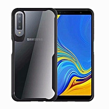 Phone Case For Samsung Galaxy A7 2018,Ultra Thin Luxury Armor Back Cover Soft Silicone TPU Phone Case HD Transparent Shell Anti-knock Full Protection For Samsung Galaxy A7 2018