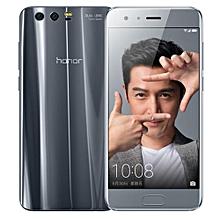 Honor 9 5.15 Inch (6GB RAM, 128GB ROM) Android 7.0 12MP + 20MP Dual + 8MP 4G LTE Dual Sim Smartphone-Grey