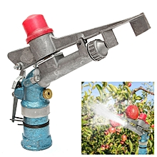 "1.3"" Alloy Rain Sprinkler Gun 360? Adjustable Water Lawn Irrigation System"