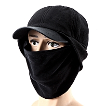 Men Riding Warm Cap With Mask Windproof Racing Hat Universal Scarf