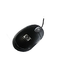 HP USB Optical Mouse - Black