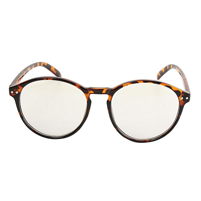 ea1dbfe6904f Chic Round Eyeglass Frame Vintage Glasses Retro Spectacles Clear Lens  Eyewear