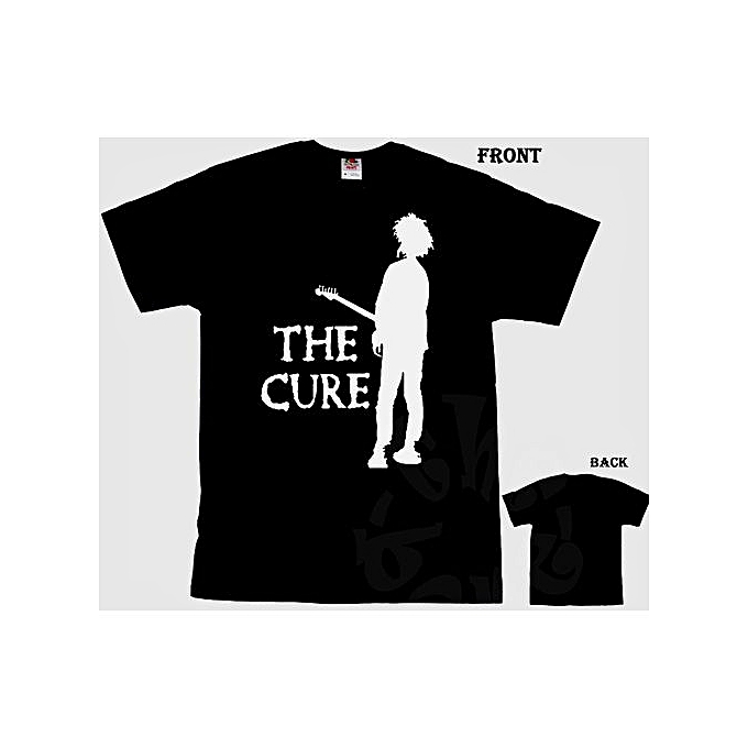 94aa78f7 Fashion Personality Pattern Cotton Men's T-shirt THE CURE English Rock Band  T Shirt Mens