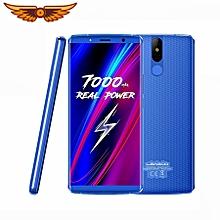 "LEAGOO POWER 5 Mobile Phone 5.99"" FHD+ 18:9 7000mAh 6GB+64GB 13MP Dual Camera Android 8.1 MT6763V Octa Core 4G Smartphone - Blue"