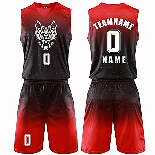db7cfe40c Eufy Best Men s Customized Team Basketball Sport Jersey Uniform-Red(MB-2615)