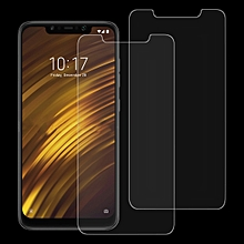 2 PCS 0.26mm 9H 2.5D Tempered Glass Film for Xiaomi POCO F1