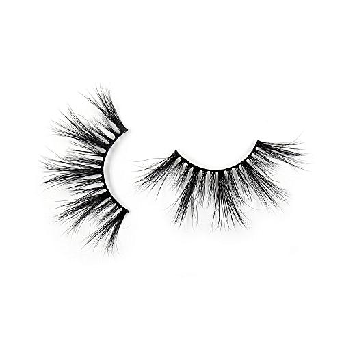 13088511cd2 Generic Eyelashes 3D Mink False EyeLuxury Large Criss-cross False Eyelashes  25mm Hand Made Fluffy Dramatic Lashes Makeup(G07)
