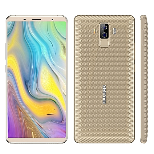 S3 4GB+64GB Dual Back Cameras 8500mAh Battery 6.0 inch Android 7.0 MTK6750T Octa Core up to 1.5GHz 4G Smartphone(Gold)