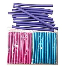 30-Pack Flexible Curling Rods Hair Curler Roller Set - Random Color