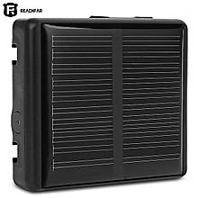 Reachfar RF - V26 Smart Solar GPS Tracker Waterproof Anti-lost Alarm 2G GSM Network-BLACK