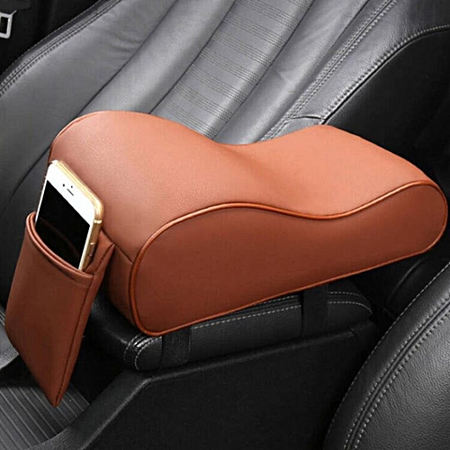 1PCS Memory Foam Car Center Seat Armrest Cushion Pillow Support Pad Interior Trim New