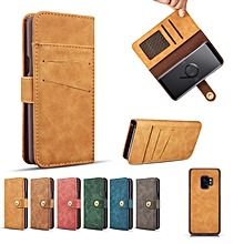 Magnetic Detachable Wallet Protective Case For Samsung Galaxy S9/S9 Plus