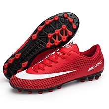 Fashion World Cup Football Soccer Competition Training Sports Shoes-Red