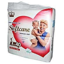 Premium Diapers Large 9-15 Kgs - Count 40