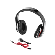 Professional Classic Design Wireless Bluetooth MP3 Noise Isolation Headsets