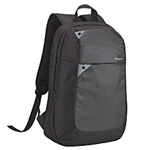 "Intellect 15.6"" Laptop Backpack - Black/Grey (TBB565)"