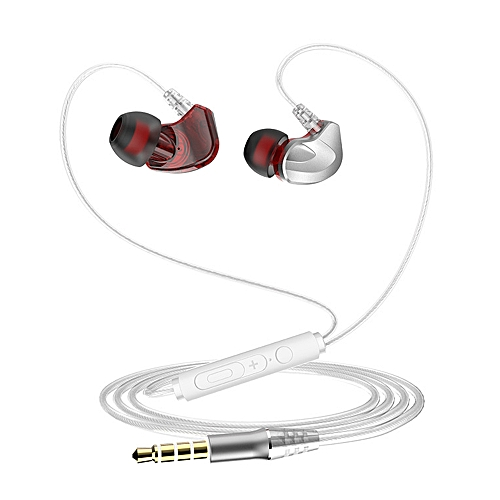 7eaf1bb11bb Generic S6 3.5mm Wired Headphones In-Ear Sport Earbuds Noise Isolating Earphone  Bass Stereo Headset In-line Control   Microphone