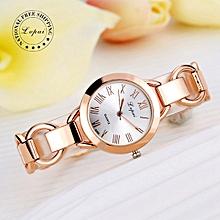 Women Rose Gold Quartz Watch Gold